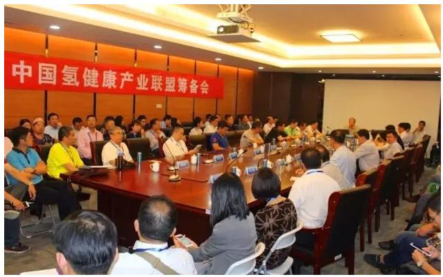 中国氢健康产业联盟筹备会成功召开